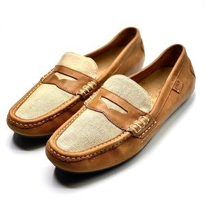 {Polo Ralph Lauren} Leather Loafers/Drivers